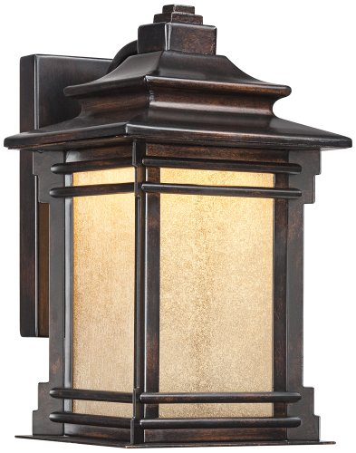 Hickory Point 12'' High Outdoor LED Light by Franklin Iron Works