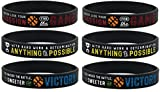 Inkstone Basketball Silicone Wristbands with