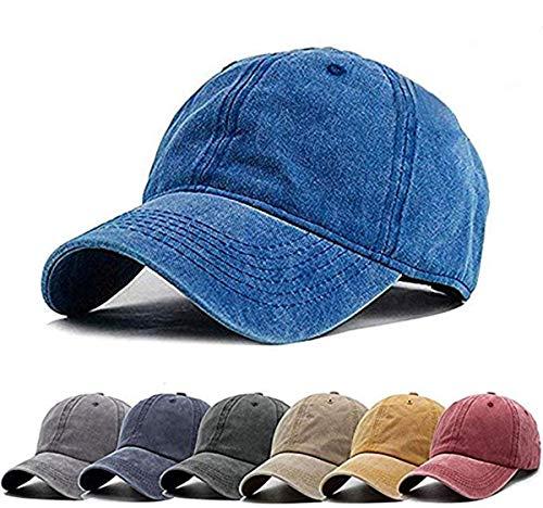 (NeuFashion Ponycap Messy High Bun Ponytail Adjustable Mesh Trucker Baseball Cap Hat for Women)