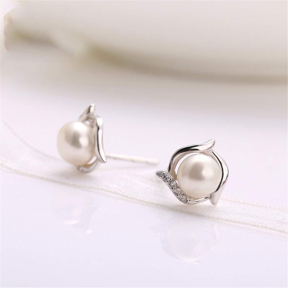 Ybriefbag Elegant Fringe Hanging 925 Sterling Silver Earrings Pearl Stud Earrings Ladies Special Starlight Gift