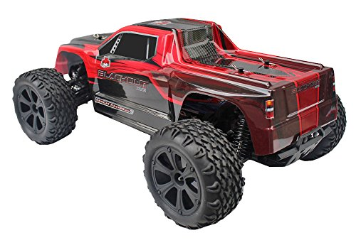 Redcat Racing Blackout XTE 1/10 Scale Electric Monster Truck with Waterproof Electronics, Red by Redcat Racing (Image #1)