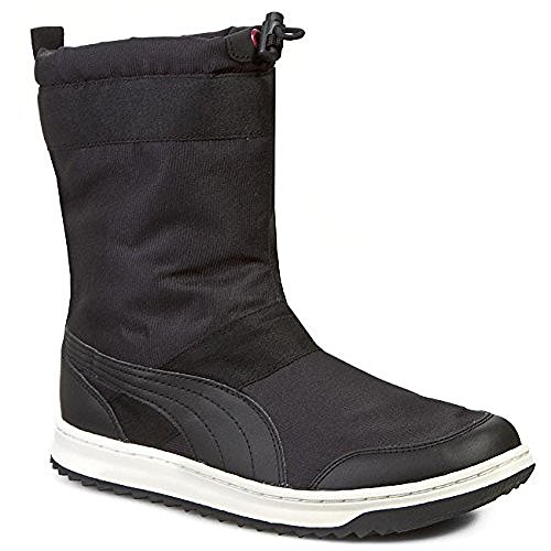 Womens Puma Black Snow Ankle Boots (Puma Boots For Women)