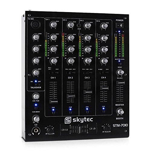STM-7010 Mezclador 4 canales DJ USB