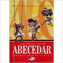 Abecedar Manual pentru clasa I (Romanian) Paperback – 2004
