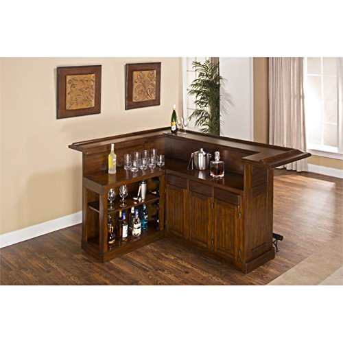 Hillsdale 64028XBCHE Classic Side Bar, Large, Brown Cherry