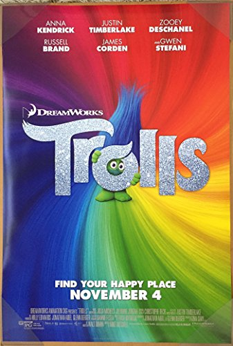 Trolls Official Movie Poster