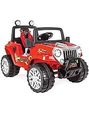 Pilsan Ranger Akülü Jeep 12 Volt Kumandali (Kırmızı)
