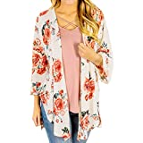 Pandaie Jacket,Feitong Womens Print Bohemia Cardigan Long Kimono Oversized Shawl Blouse WH XXL