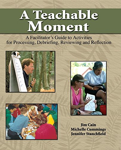 A Teachable Moment: A Facilitator's Guide to Activities for Processing, Debriefing, Reviewing and Reflection