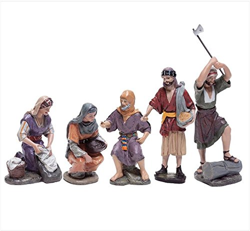 Christmas Nativity Figurine - J.L. Mayo - Everyday Action Figures–Series 11cms BEL913 by Triciclo Editores