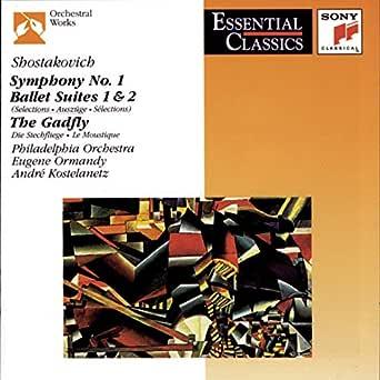 Shostakovich Symphony No 1 Other Short Works By Andre