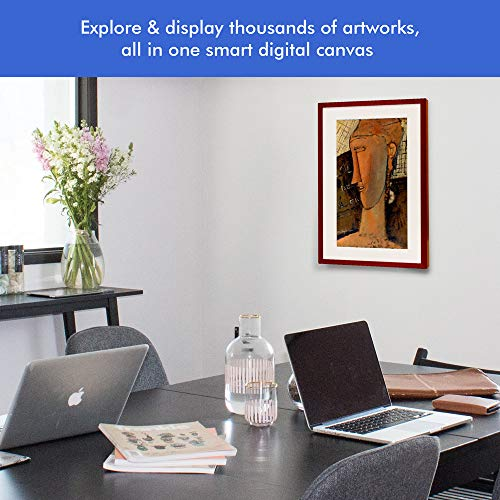 Canvia - Digital Art Canvas & Smart Digital Frame| 11AC WiFi | 16GB| 27x18in Frame| Adv Full-HD Display| Powered by ArtSense| 1 Year Membership Subscription to Premium Art & Photography Library