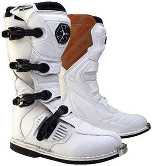 DFGRFN Moto Botas Impermeables Protección contra choques Bicicleta ...