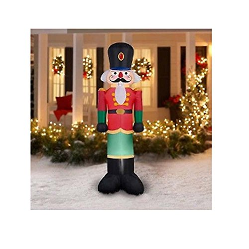 Outdoor Lighted Nutcracker Soldier - 7