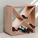 HomCom 24-Bottle Tabletop Wine Rack