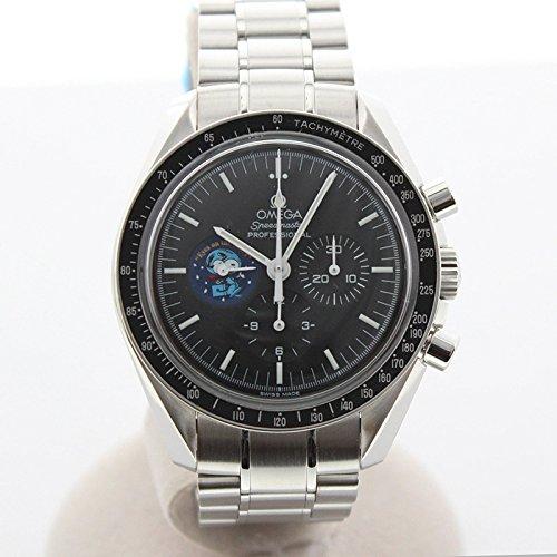 [オメガ]OMEGA 腕時計 スピードマスター プロフェッショナル スヌーピーアワード ムーンウォッチ 5441本限定 3578.51 メンズ 中古 B07DC366R9