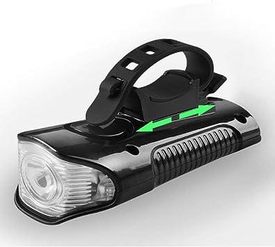 Luz de la bicicleta luces de bicicleta USB recargable linterna de ...