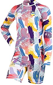 Owntop Swimsuit for Kids - Boys Girls All-in-one Swimwear Child Sun Protection
