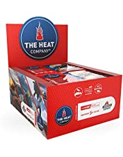 THE HEAT COMPANY Calentadores Manos - EXTRA CÁLIDO - 12 horas de calor - calor instantáneo - aire activado - puro natural - 40 pares