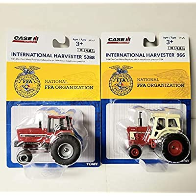 Case IH Total of 2 FFA Edition Toy Tractors 5288 & 966 Models 1/64 Scale New: Toys & Games