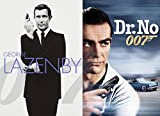 James Bond 007 George Lazenby & Sean Connery Collection 2-DVD Bundle - On Her Majesty's Secret Service & Dr. No Set