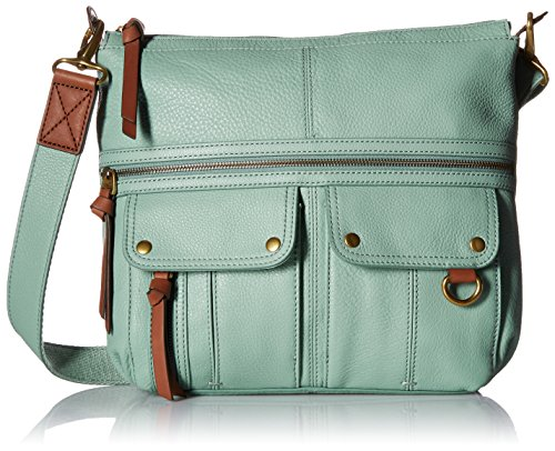8a7270708883 Fossil Morgan Top Zip Cross Body Bag