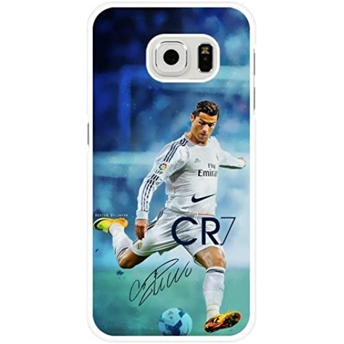 Samsung Galaxy S7 Case,Real Madrid CF Cristiano Ronaldo CR7 Black Plastic Protective Case for Samsung Galaxy S7 Sales