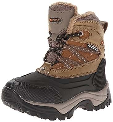 Hi-Tec Snow Peak 200 WP JR Winter Boot (Toddler/Little Kid/Big Kid),Tan/Black,10 M US Toddler