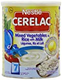 Nestle Cerelac, Mixed Vegetables and Rice with