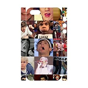D-PAFD Cell phone Protection Cover 3D Case One Direction For Iphone 5,5S