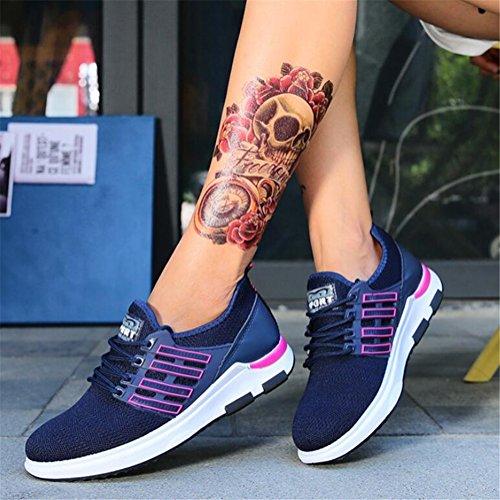 Mujer Academy de Casual Transpirable Nuevo de Suela Primavera para Ligera Zapatillas Verano Mujer Segundo Zapatillas Calzado Mujer Exing Deporte para CZwIIq