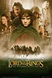 GB eye 61 x 91.5 cm Lord of the Rings Fellowship of the Ring Sheet Maxi Poster
