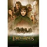 Officially Licensed Lord of the Rings - The Fellowship of the Ring Movie Score Poster