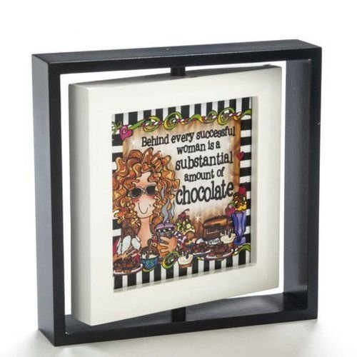 Enesco Suzy Toronto Chocolate Frame, 6