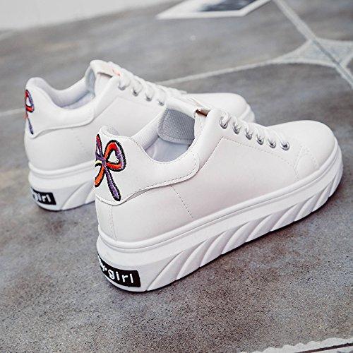 Correa Cómodo Primavera Bordados El GAOLIM Zapatos Plana Zapatos Zapatos Mujer Calzado Junta Calzado Los rojo Única De Bajo Zapatos Deportivo REwqvE67x