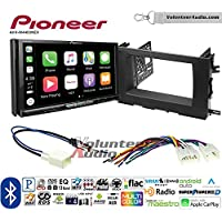 Volunteer Audio Pioneer AVH-W4400NEX Double Din Radio Install Kit with Wireless Apple CarPlay, Android Auto, Bluetooth Fits 2014-2015 Toyota Highlander