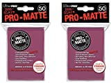 100 Ultra Pro Blackberry PRO-MATTE Deck Protectors Sleeves Standard MTG Pokemon