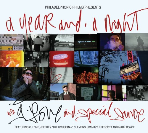 Image for A Year And A Night With G. Love & Special Sauce [CD/DVD Combo]