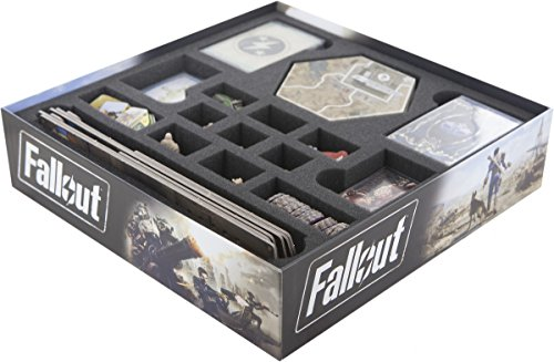 Feldherr Foam tray value set for Fallout board game box
