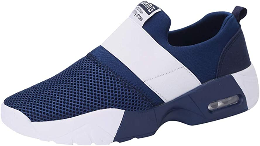 Men's Trainers Sneakers Without Laces