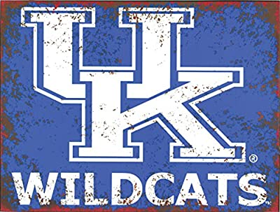 University Of Kentucky Distressed Metal Sign