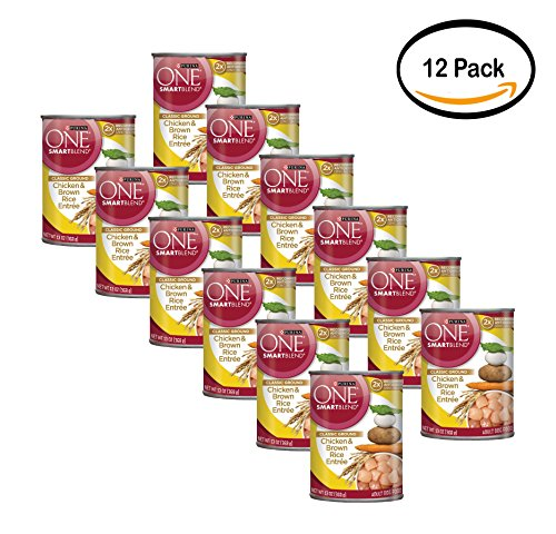 PACK OF 12 - Purina ONE SmartBlend Classic Ground Chicken &