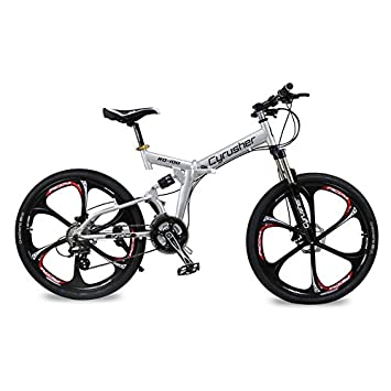 Extrbici Marco de suspensión completa y plegable para bicicleta de montaña Shimano M310 ALTUS 24 marchas