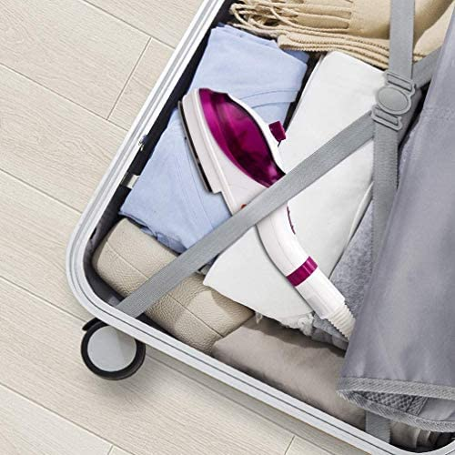SEGIBUY Vapeur à vêtements, Vapeur de Voyage Portable Vapeur Portable 1000w Chauffage Rapide, 240 ML pour la Maison et Le Voyage, arrêt Automatique