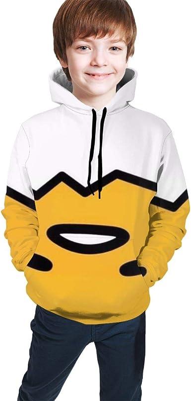 GONGXIFACAI888 Blue Kirby Unisex Child Hooded Pullover Hoodies Sweater Fleece Jacket Sweatshirts Tops for Boy Girl