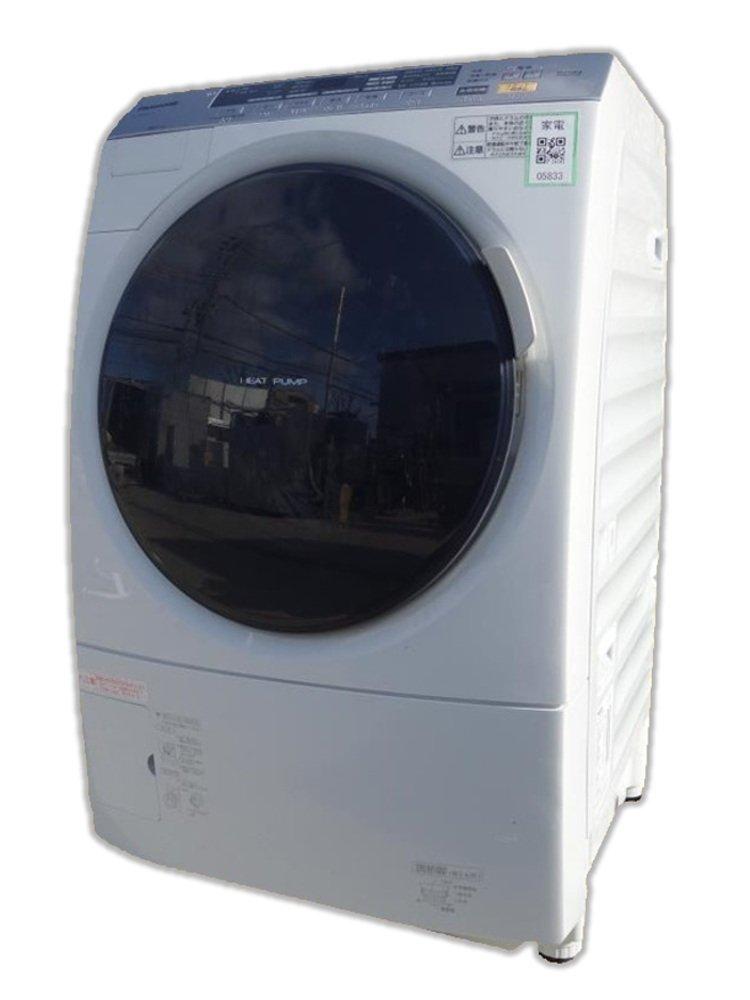 パナソニック 9.0kg ドラム式洗濯乾燥機【左開き】クリスタルホワイトPanasonic NA-VX3101L-W   B008NLZ8WI