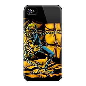 Durable Protector Cases Covers With Iron Maiden Pom Hot Design For Iphone 6