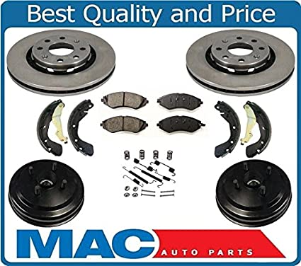 2009 For Chevrolet Aveo Rear Drum Brake Shoes Set Both Left and Right with 2 Years Manufacturer Warranty