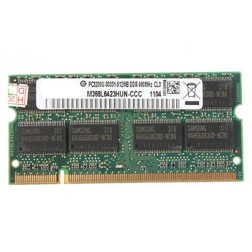 Ddr400 Sodimm 200 Pin - 512MB DDR-400 PC3200 Laptop Notebook (SODIMM) Memory RAM KIT 200-pin