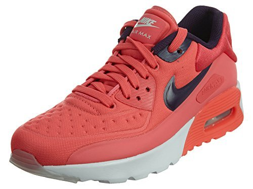 NIKE AIR Max 90 Ultra SE (GS) Girls Running-Shoes 844600-800_6Y - Ember Glow/Purple Dynasty-Pure (Air Max 90 Retro)